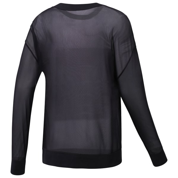 Mesh Long Sleeve T-Shirt
