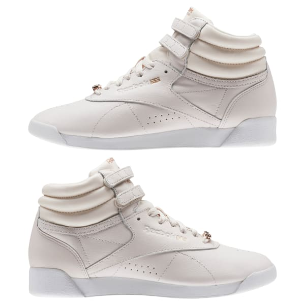 Reebok Freestyle Hi Muted - Pink  38f5a359f