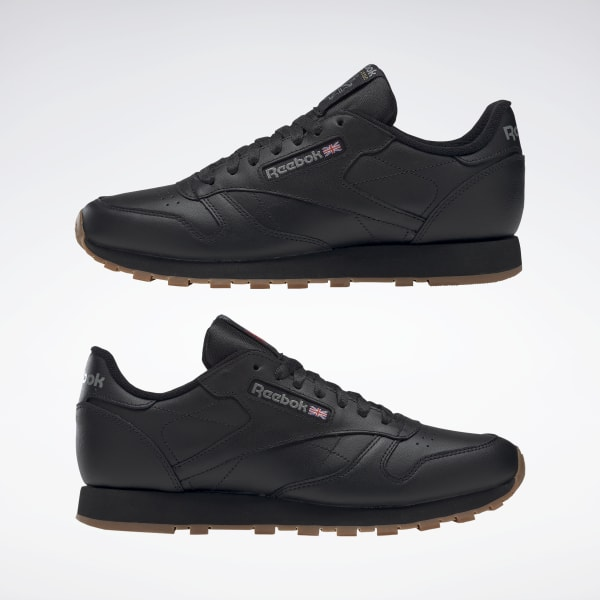 Reebok Classic Leather Shoes - Black