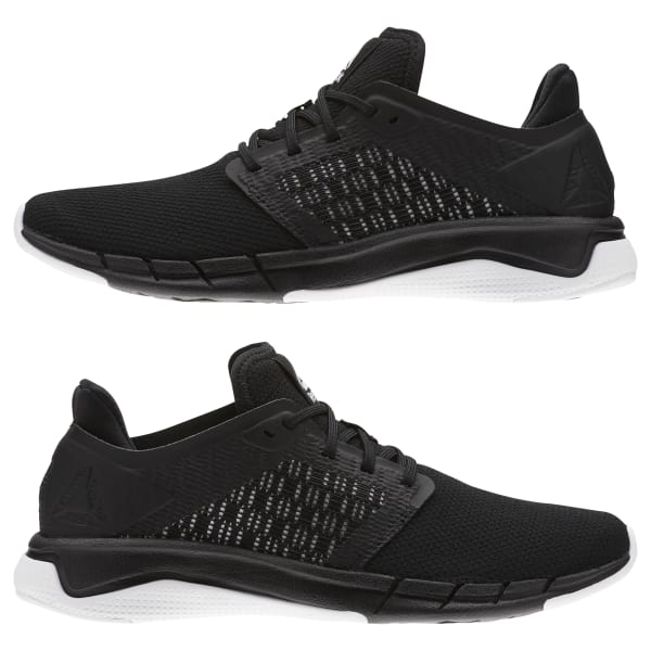 f2182029422e Reebok Print Run 3.0 - Black