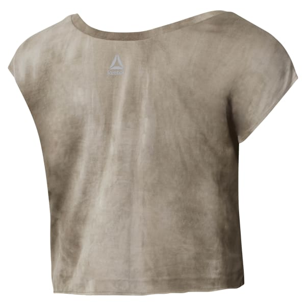 Camiseta Combat Spray Dye Crop