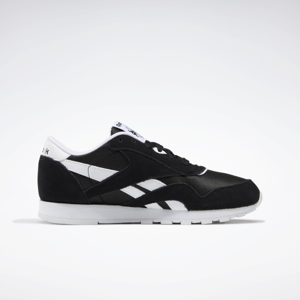 Existencia Superposición Respiración  Reebok Classic Nylon Shoes - Grade School - Black | Reebok US