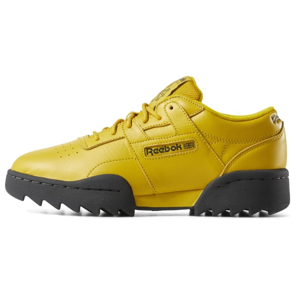 Reebok Workout Ripple Baskets Jaune