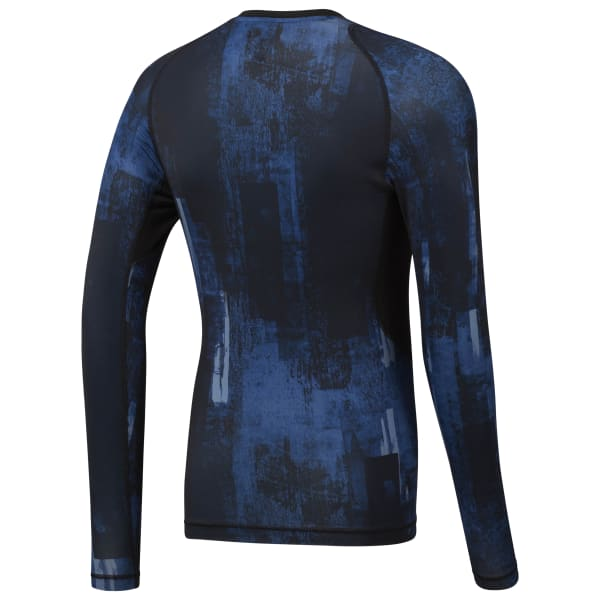 Reebok Combat Long Sleeve Rash Guard