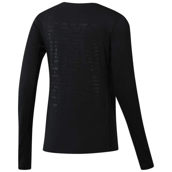 LES MILLS™ BURNOUT LONG SLEEVE TEE