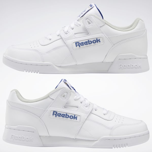390cc5aa302 Reebok Workout Plus - White