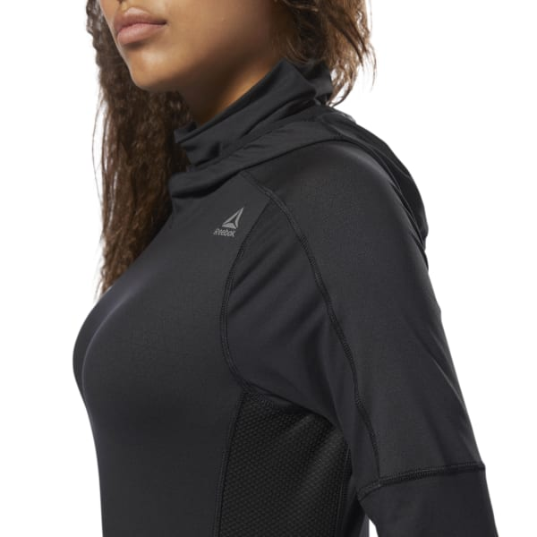 Reebok Thermowarm Touch Scuba Hoodie - Black  1724c565f52