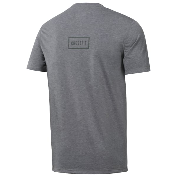T-shirt Reebok CrossFit Burnout SS - Solid