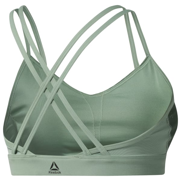 Hero Strappy Bra – Placed Print