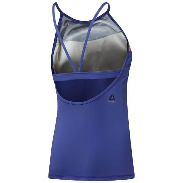 LES MILLS Tank With Built In Padded Sports Bra