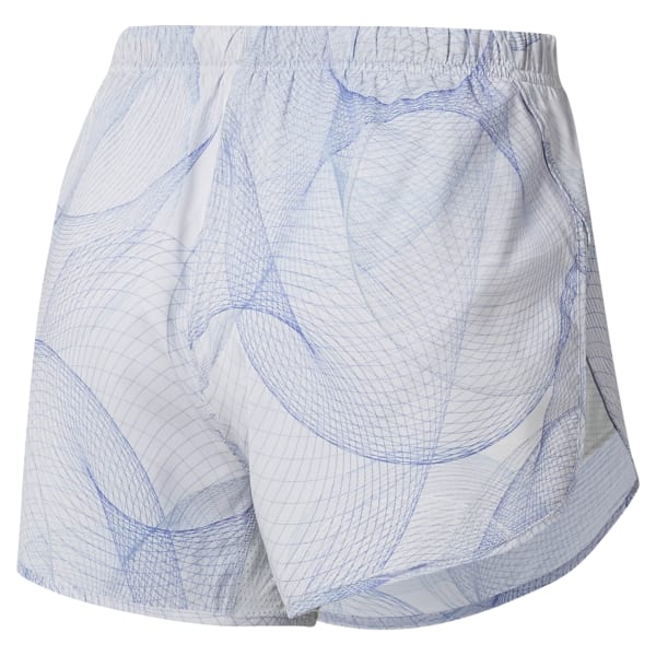 Short de running imprimé
