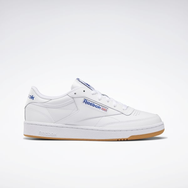 Reebok Classic Ace Men/'s Tennis Shoes Sneakers Leather White// Sheer Grey