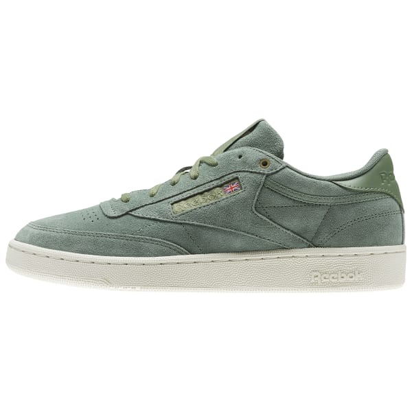 9e9b27ba1f90e Reebok Club C 85 Montana Cans collaboration - Green