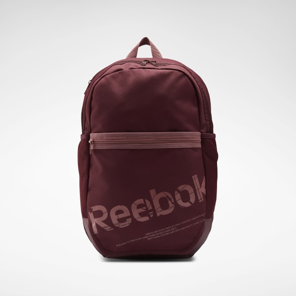 Reebok Workout Ready Active Graphic Backpack - Red | Reebok GB