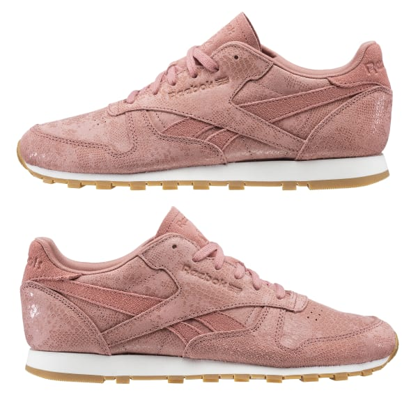 12f732bda19 Reebok Classic Leather Clean Exotics - Pink
