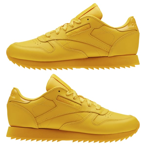 c2c5bacdca60e Reebok Classic Leather Ripple - Gold