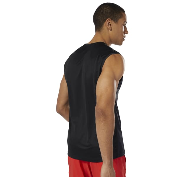 d04d2f5937da2 Reebok Workout Ready ACTIVCHILL Sleeveless Top - Black
