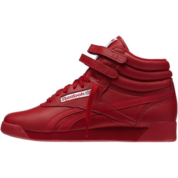 92b595a1eeba Reebok Freestyle Hi Spirit - Red