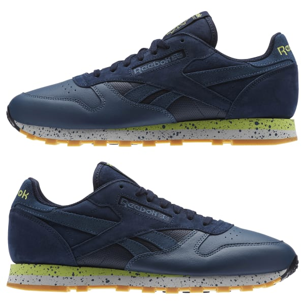 f0e1b38d3c3bdf Reebok Classic Leather Speckle Midsole Pack - Blue