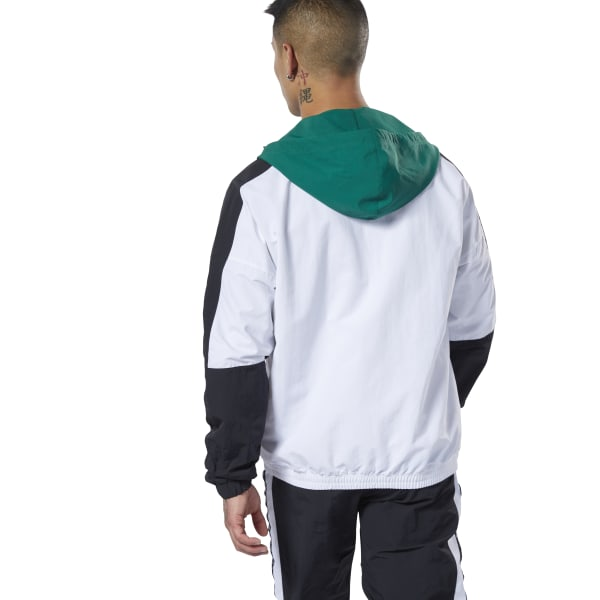 3733f5c832 Reebok Meet You There Woven Jacket - Green | Reebok MLT