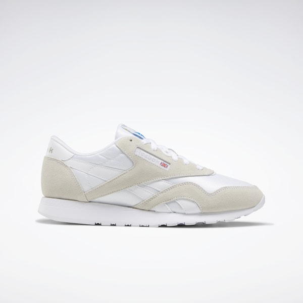 Reebok Sko CL Nylon WhiteLight Grey