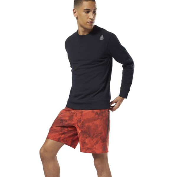Reebok CrossFit Speed Short - Stone Camo - Red | Reebok US