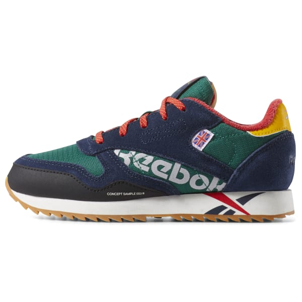 99bc687d0df5b Reebok Classic Leather Ripple Altered - Pre-School - Clover Green ...