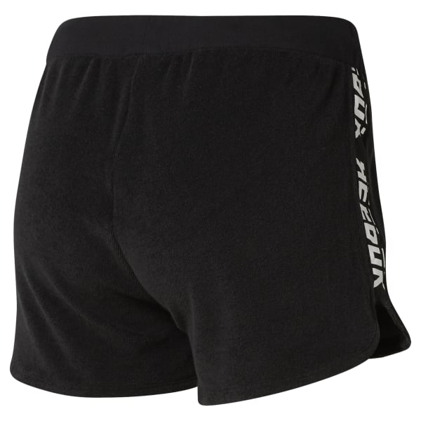 abef2d6aeccd Reebok WOR Meet You There Terry Shorts - Black