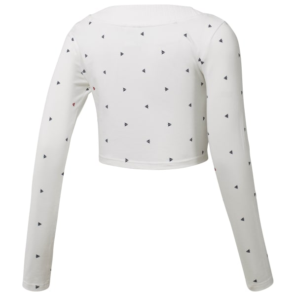 Arrow Athletic Cropped T-Shirt