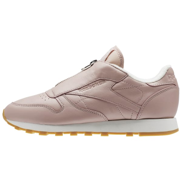 Reebok Classic Leather Zip - Pink  bf5dd5c8c