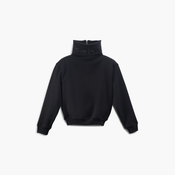 Victoria Beckham Cropped Branded Cowl