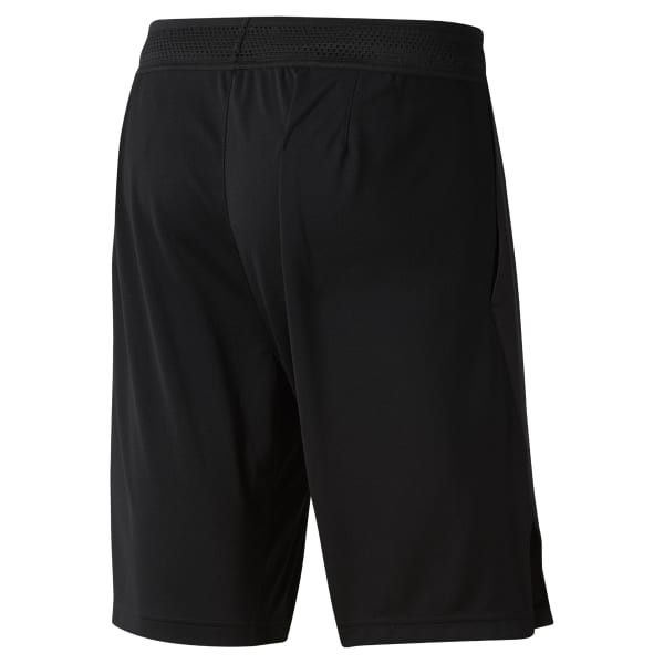 Short Training Knit-Woven