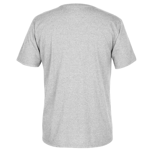 Left Chest Stacked Logo Tee