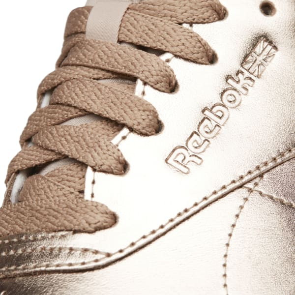 caad8c84c786 Reebok Freestyle Hi Metallic - Gold