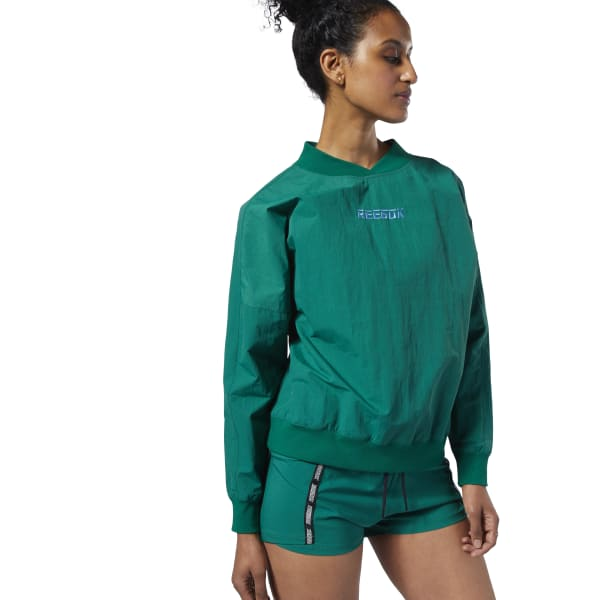 Meet You There Woven Pullover