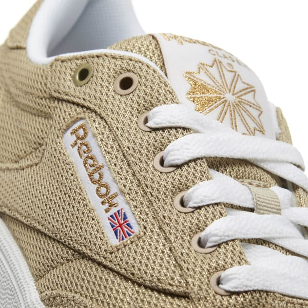 cda3c69ee140d Reebok Club C 85 Metallic Mesh - Yellow