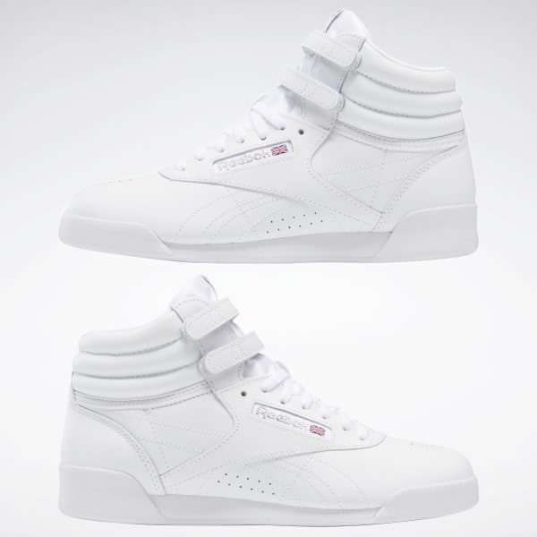 Reebok Freestyle Hi - Grade School - White | Reebok US