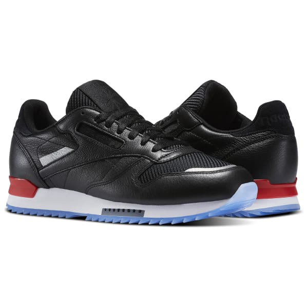 56d85197c1ffd4 Zapatillas Classic Leather Ripple Low BP - Negro Reebok