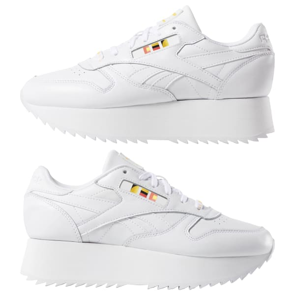 4d0c9af791d Reebok Classic Leather Double x Gigi Hadid - White
