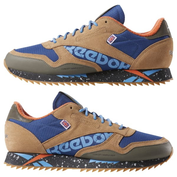 watch a490b 37278 Reebok Classic Leather Ripple Altered - Blue   Reebok US reebok men s classic  leather ripple altered