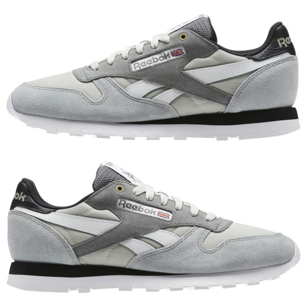 Reebok Classic Leather MCCS - Grey  6575ac04d