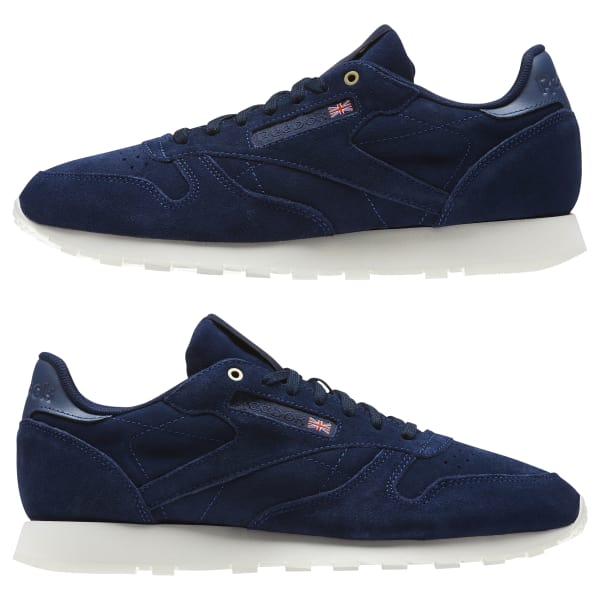 26af8086f18 Classic Leather Montana Cans collaboration - Azul Reebok