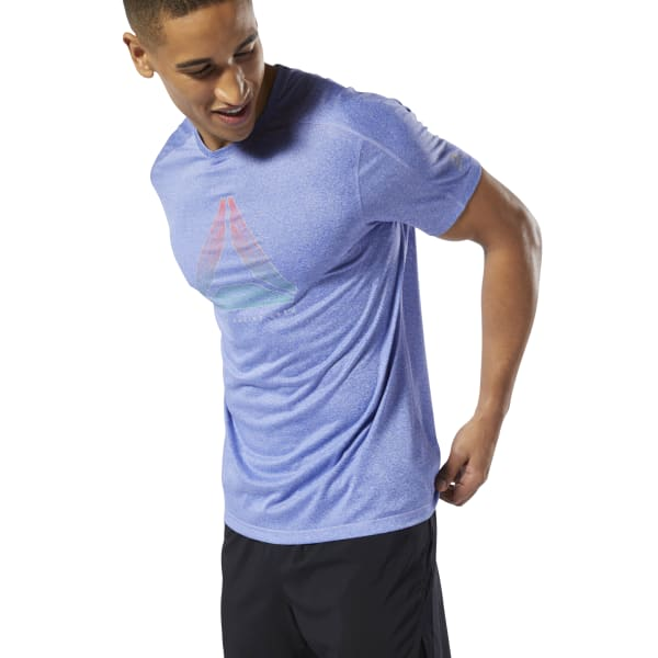 0f0c4de634 Playera OSR REFLECT MOVE TEE - Negro Reebok
