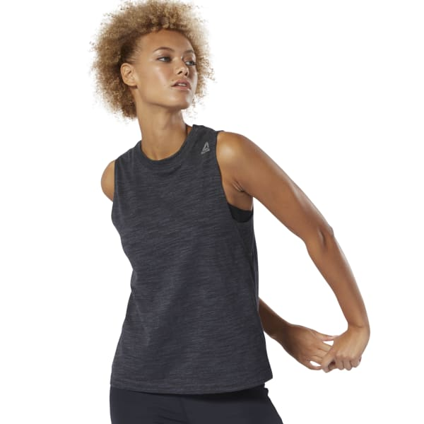 training-essentials-marble-tank-top by reebok