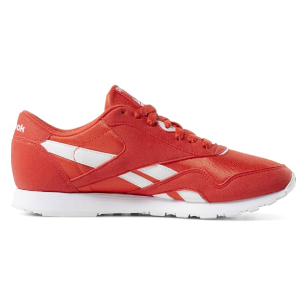 Reebok Classic Nylon Color Shoes - Red