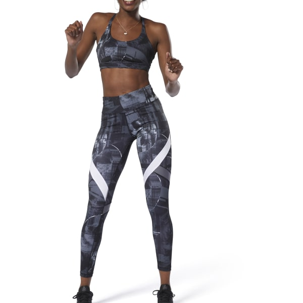 3c59c5662d Reebok WOR Meet You There Moonshift Tights - Black | Reebok Norway