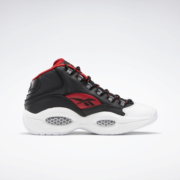 Pigmento completamente parrilla  Reebok Question Mid Men's Basketball Shoes - Black | Reebok US
