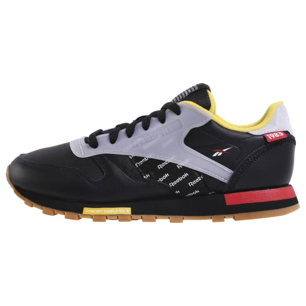 black and red reebok shoes