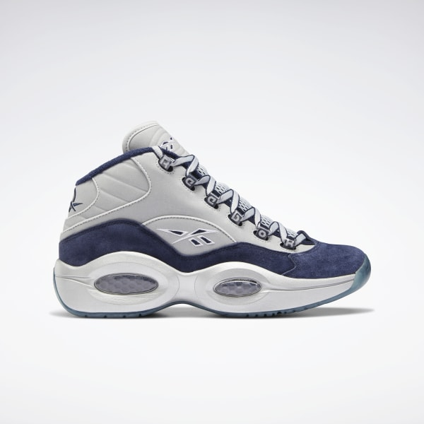 Continuación Tanzania este  Reebok Question Mid Men's Basketball Shoes - Blue | Reebok US