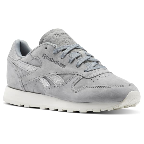 Reebok Classic Leather Shimmer - Grey  909e70a77d25